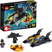 Lego  Perseguição De Pinguim Em Batbarco