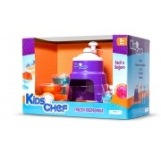 Máquina de Raspadinha Kids Chef Frozen com Acessórios