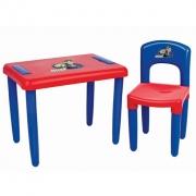Mesa com Cadeira Azul e Vermelho Max Magic Toys
