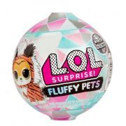 Mini Boneca Surpresa - LOL Surprise! - Fluffy Pets