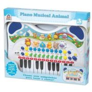 Piano Musical Animal Azul