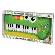 Piano Musical Infantil Jacaré Braskit