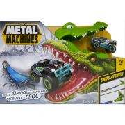 Pista Metal Machines Croc Attack Crocodilo Candide