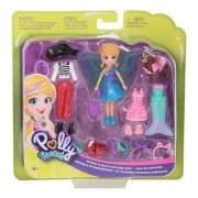 Polly Pocket - Polly e Cachorrinho com Fantasias - Mattel