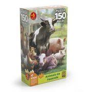 Puzzle 150 peças Animais da Fazenda