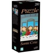Quebra-Cabeça Nig Brinquedos Santa Ceia 260 Peças