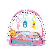 Tapete de Atividades Infantil Feminino para Bebes Arco Rosa Dican