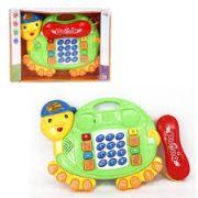 Telefone musical infantil Tartaruga Phone