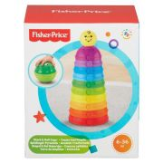 Torre de Potinhos Coloridos - Fisher Price