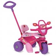 Triciclo Tonkinha Passeio Pedal Rosa