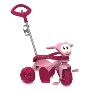 Triciclo ZOOTICO Passeio a Pedal Rosa