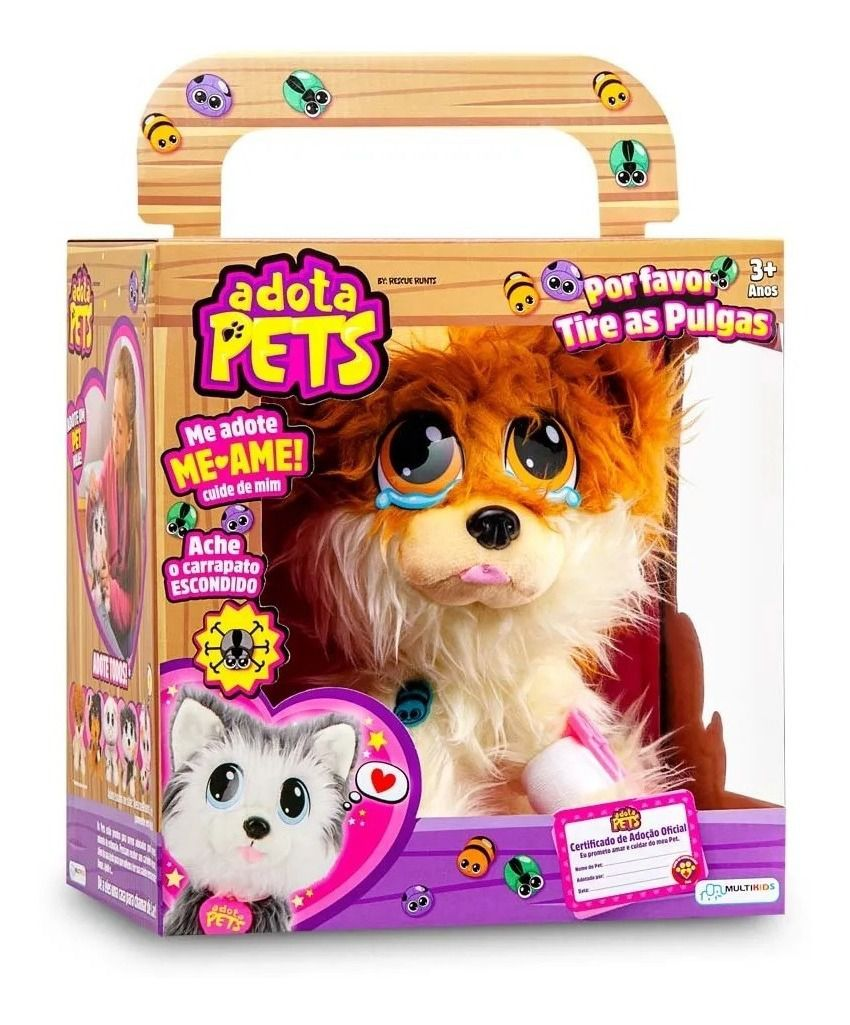 Adota Pets - Lulu Com Acessórios