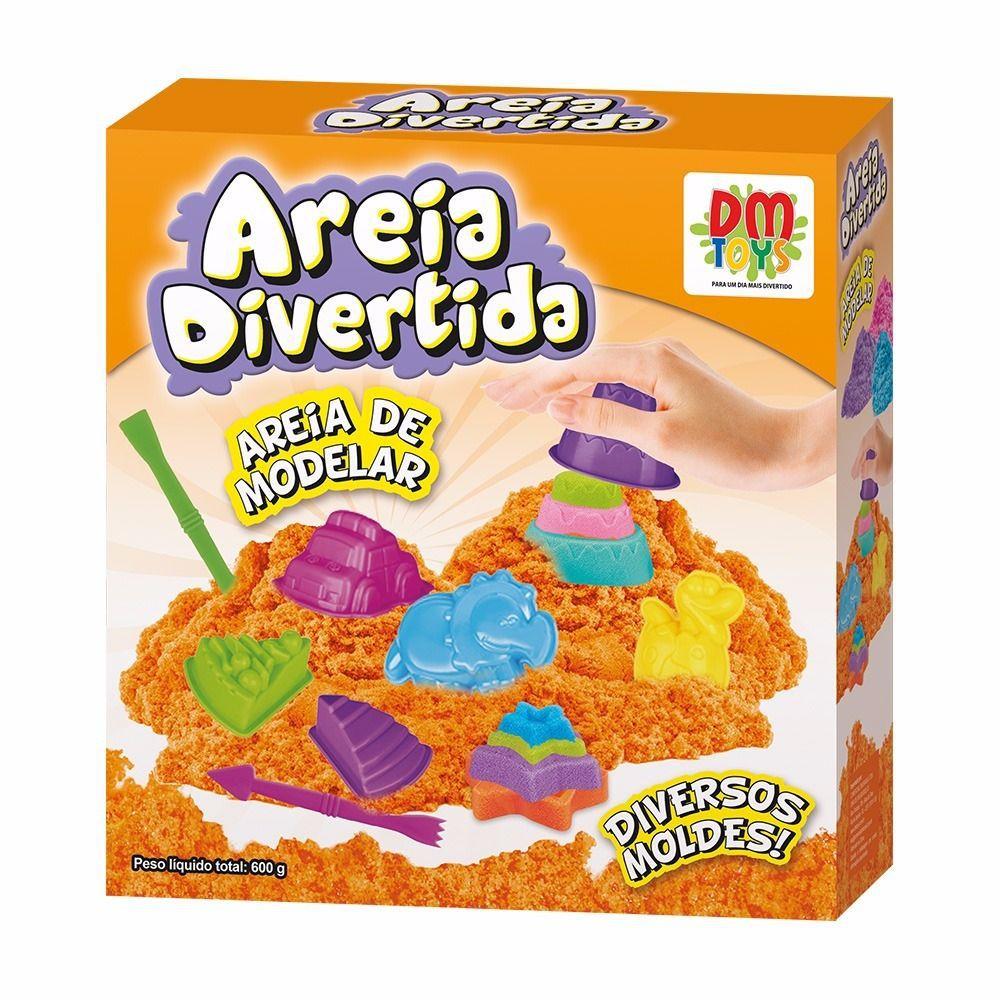 AREIA DE MODELAR AREIA DIVERTIDA FORMAS