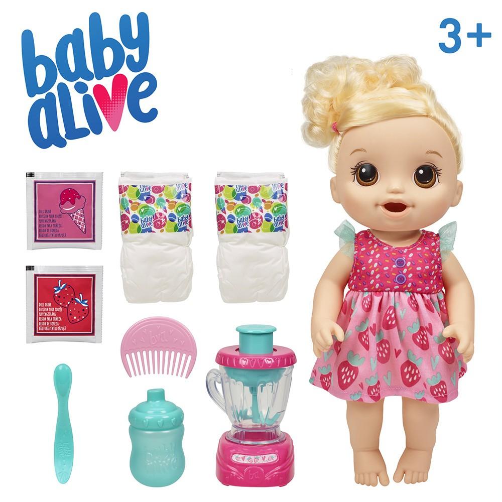 Baby Alive Misturinha Loira