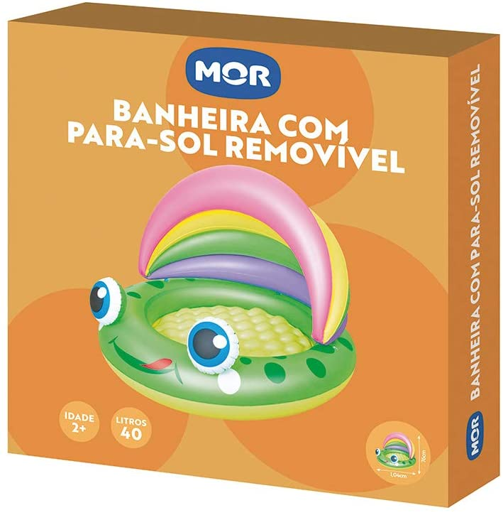 Banheira Para -Sol Removível 40 Litros