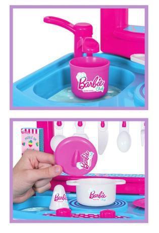Barbie Chef Cozinha Com Acessórios - Cotiplás
