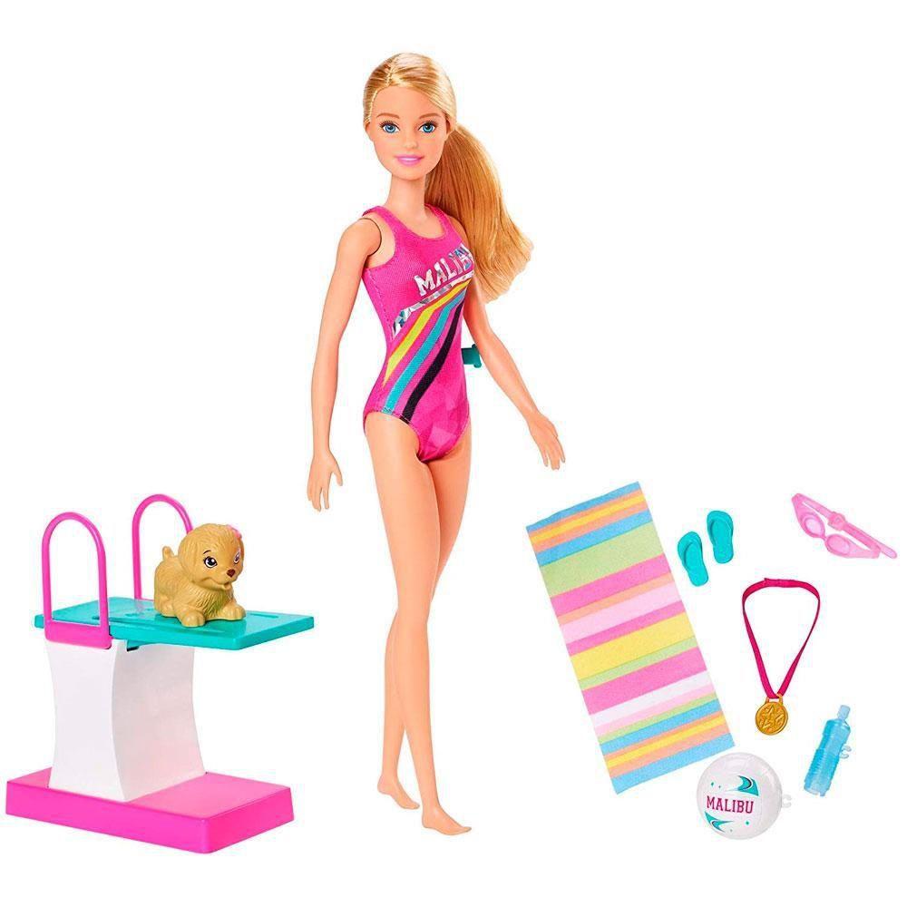 Barbie Explorar e Descobrir Nadadora - Mattel