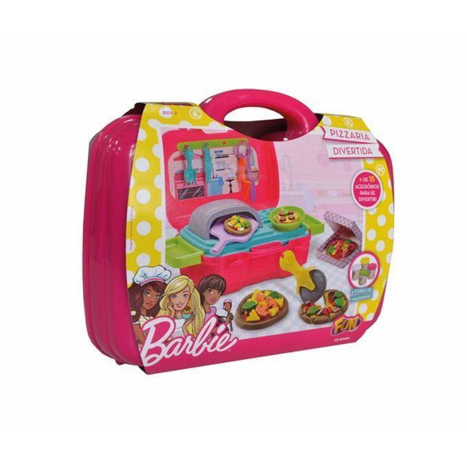 Barbie Massinha Chefe Pizzaria Divertida