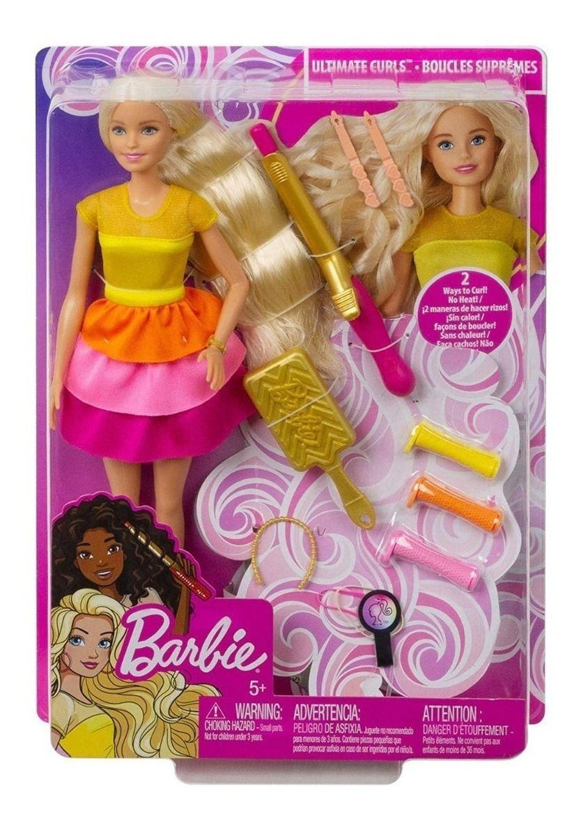 Barbie Penteados Dos Sonhos