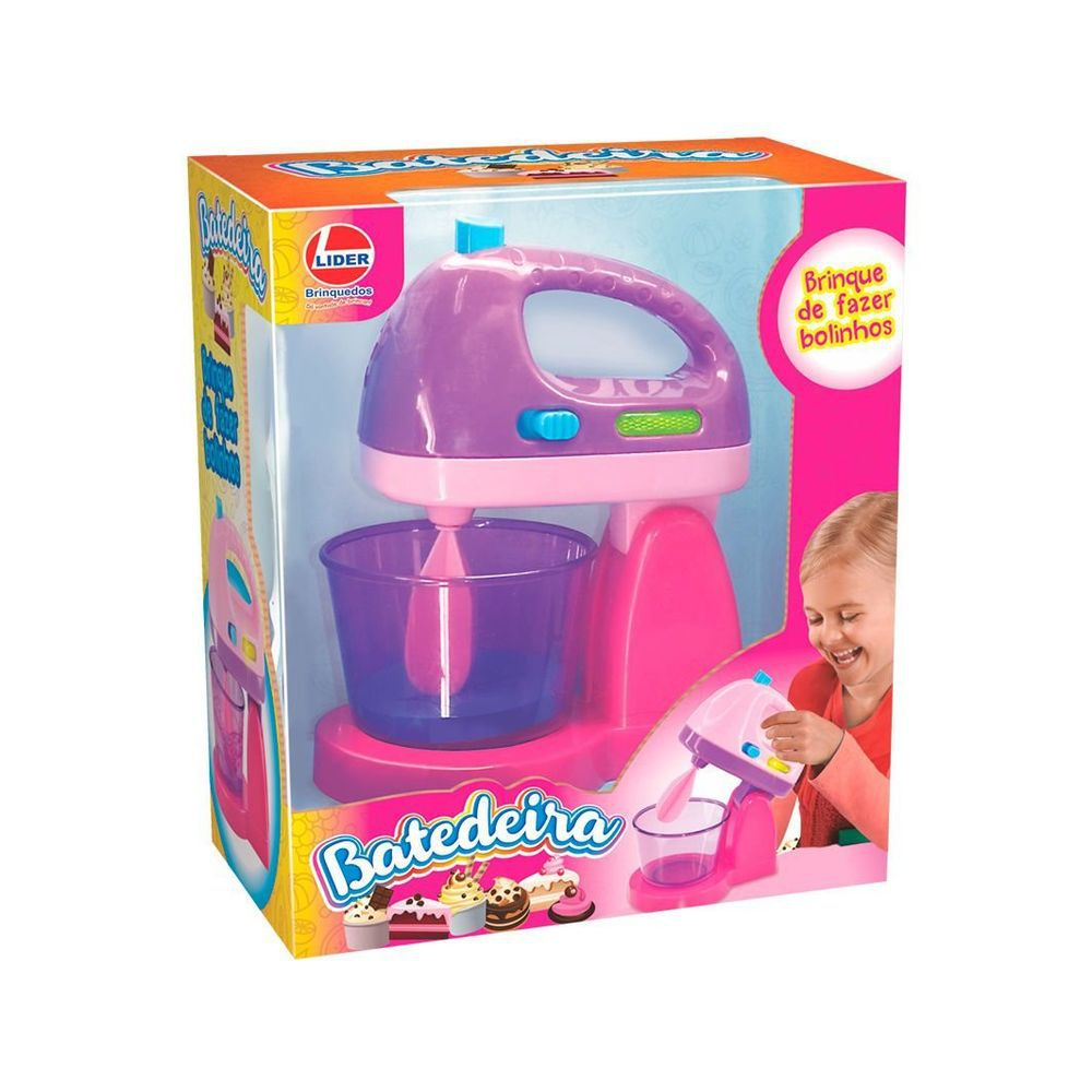 Batedeira com Luz e Movimento - Lider Brinquedos