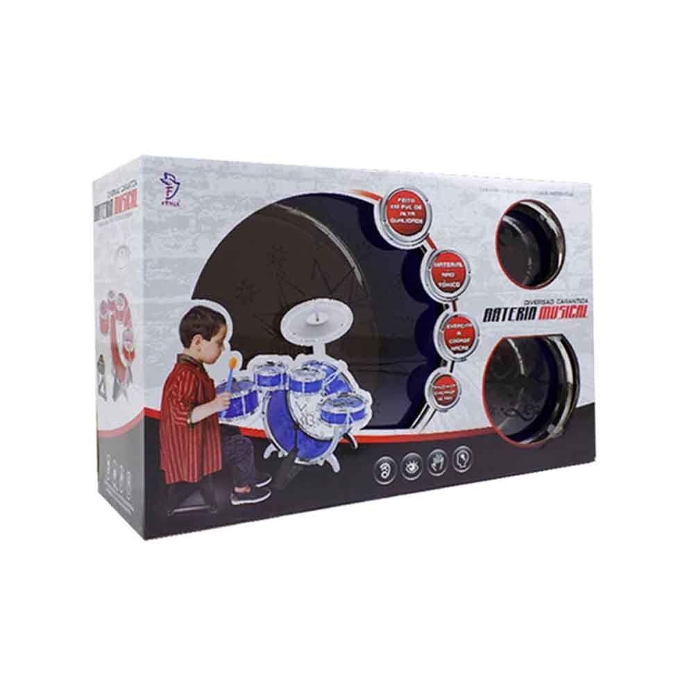 Bateria Musical - Fênix Brinquedos