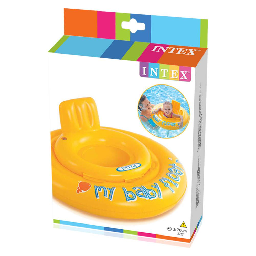 Boia Infantil Intex My Baby Float Amarelo Poltrona