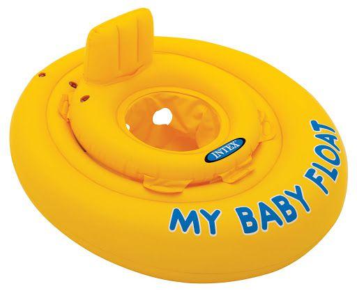 Boia Infantil Intex My Baby Float Amarelo Poltrona