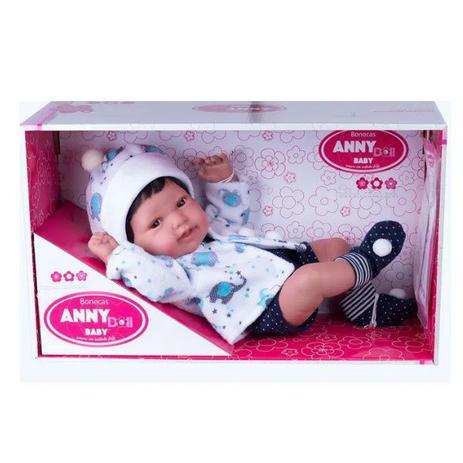 Boneca Anny Doll Baby Menino