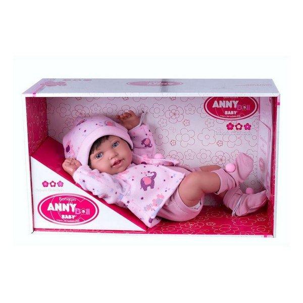 Boneca Anny Doll Bebê Reborn Baby Menina - Cotiplás