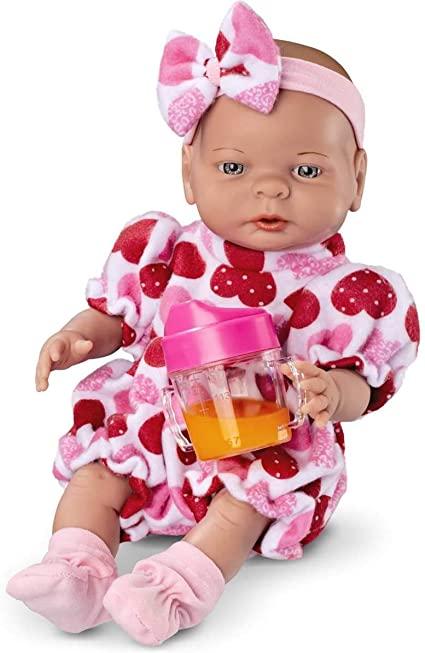 Boneca Babies Primeiras Comidinhas Roma