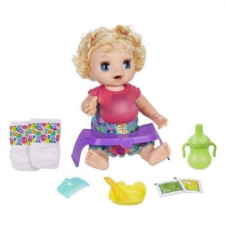 Boneca Baby Alive - Bebê Faminta - Loira