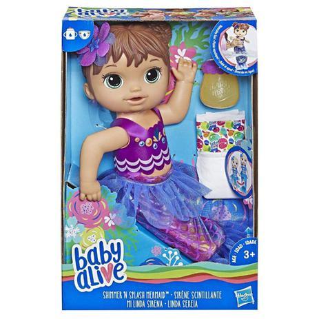 Boneca Baby Alive Linda Sereia