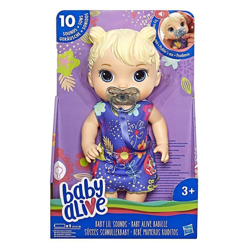Boneca Baby Alive - Primeiros Sons - Loira -
