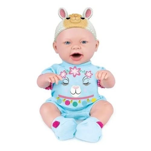 Boneca Baby Ninos Hora Do Lanche Bichinhos - Cotiplás