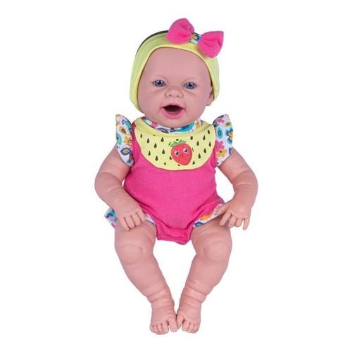 Boneca Baby Ninos Hora Do Lanche Reborn - Cotiplas