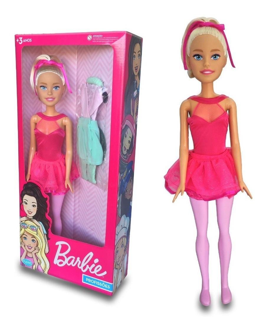 Boneca Barbie 52 Cm - Barbie Bailarina