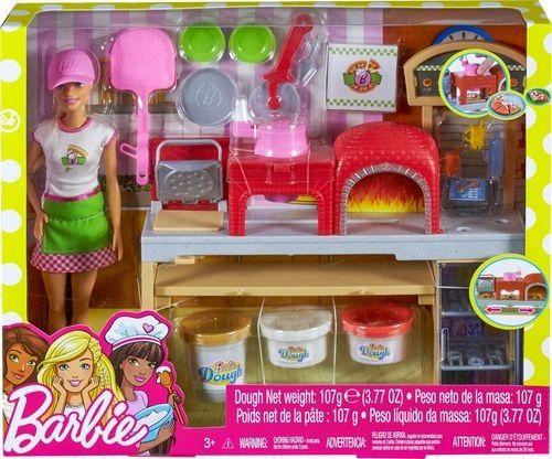 Boneca Barbie com Acessórios - Pizzaiola