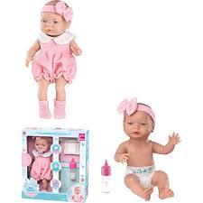 Boneca Bebê 35 Cm Primeira Mamadeira