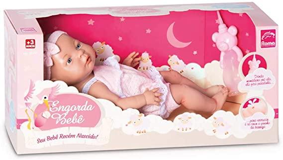 Boneca Bebê Recém-Nascido - Roma