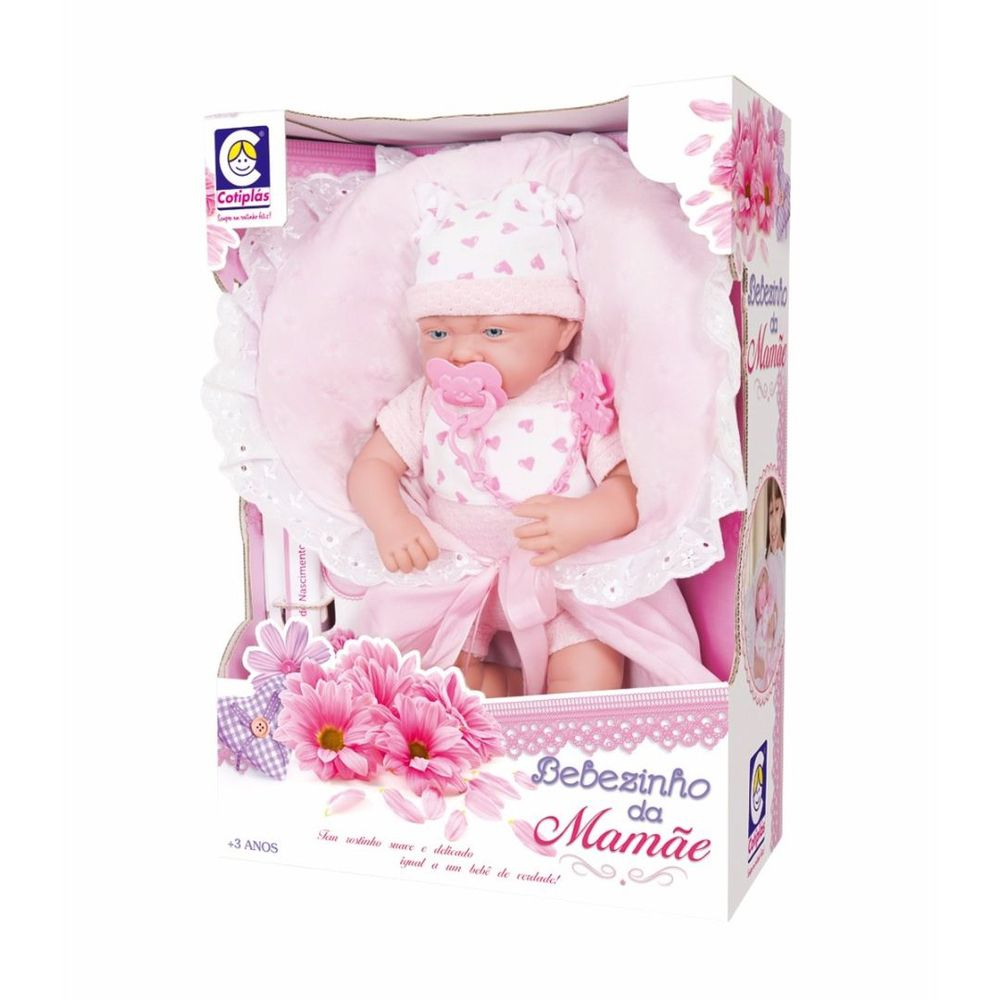Boneca Bebezinho Da Mamãe