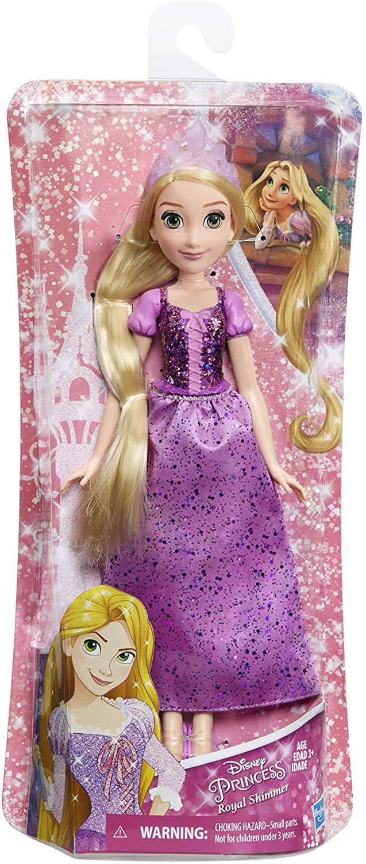Boneca Clássica 30 Cm Princesas Disney - Rapunzel