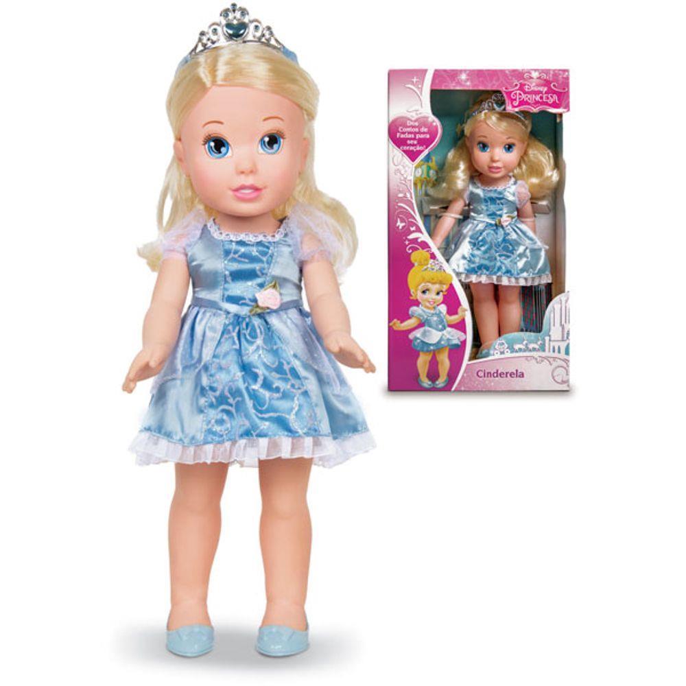 Boneca Clássica Minha Primeira Princesa - Princesas Disney Cinderela - Mimo