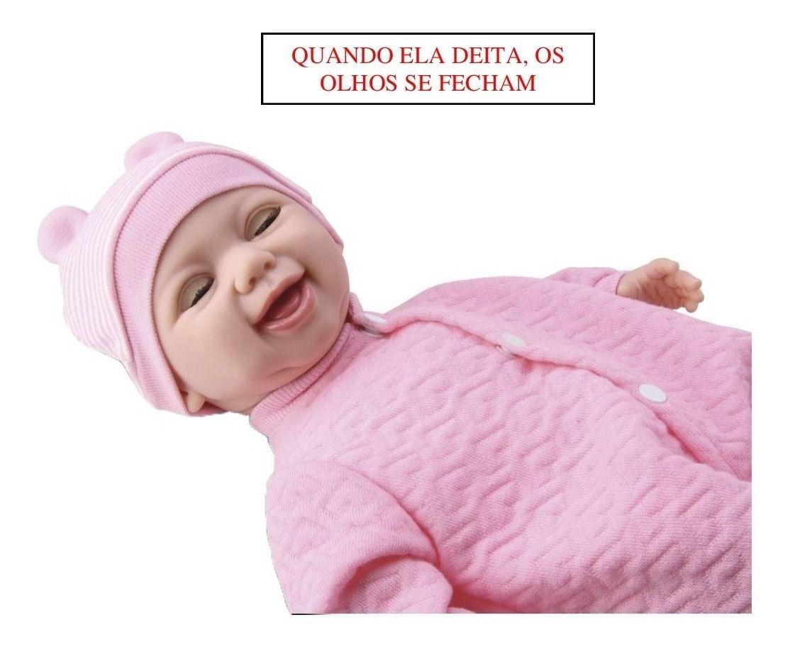 Boneca Diver New Born Soninho Menina