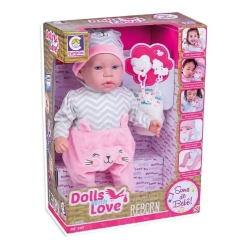 Boneca Dolls With Love Reborn