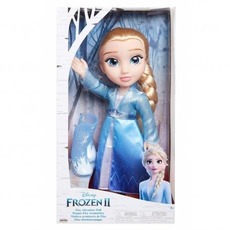 Boneca Elsa Com Vestido Luxo