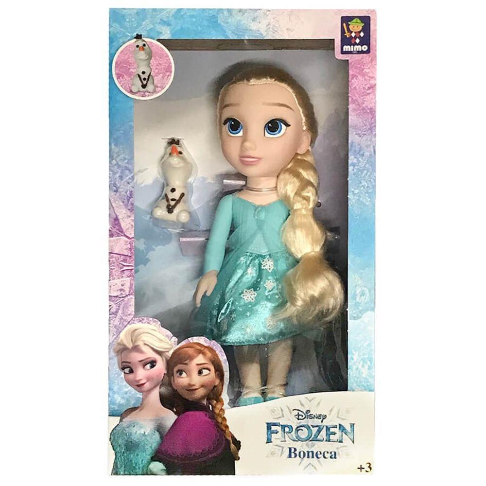 Boneca Frozen - Elsa Passeio com Olaf