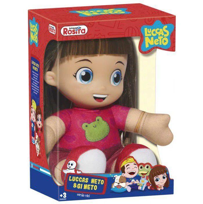 Boneca Gi Neto Pequena