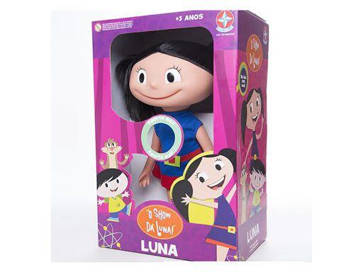 Boneca Luna c/ Som - O Show da Luna