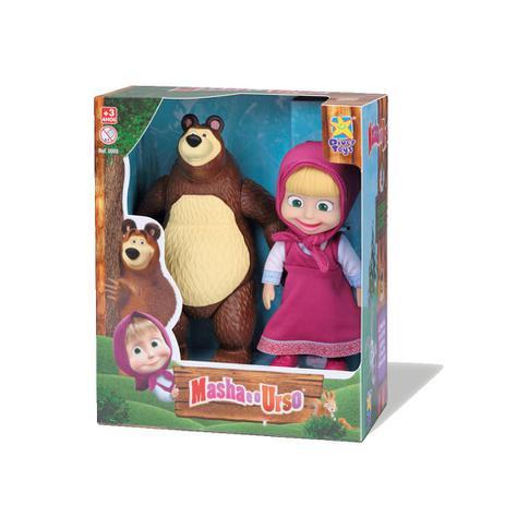 Boneca Masha e o Urso - Diver Toys