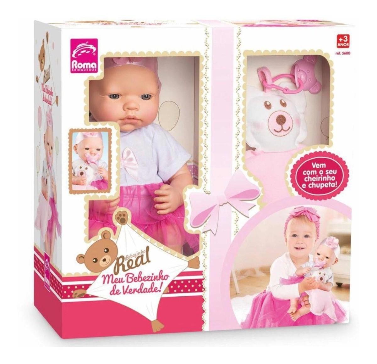 Boneca Meu Bebezinho Real